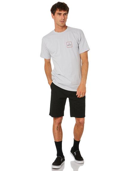 SILVER MENS CLOTHING BRIXTON TEES - 16401SILVR
