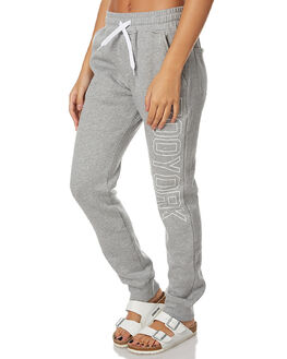 GREY HEATHER WOMENS CLOTHING ZOO YORK PANTS - ZY-WPA7183GRY