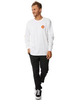 WHITE MENS CLOTHING BRIXTON TEES - 06833WHITE