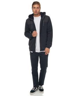 BLACK MENS CLOTHING HURLEY JACKETS - 894971010