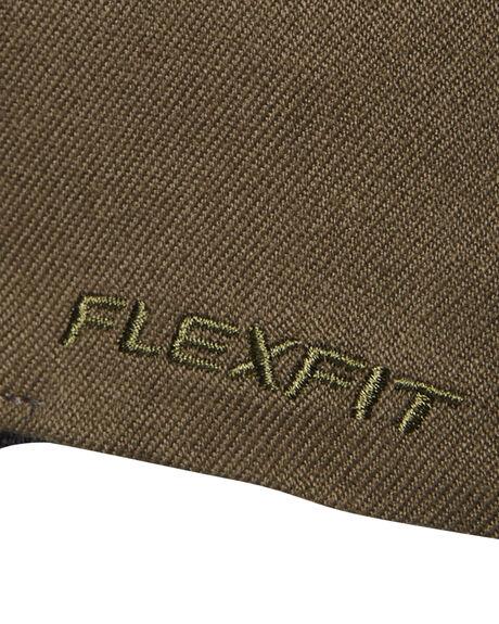 OLIVE MENS ACCESSORIES FLEX FIT HEADWEAR - 172601OLV