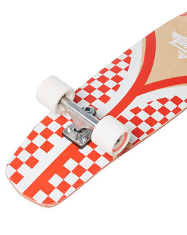 RED WHITE BOARDSPORTS SKATE DUSTERS COMPLETES - 10531489RDWHT