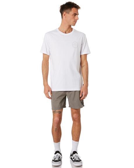 WHITE MENS CLOTHING RUSTY TEES - TTM2370WHT