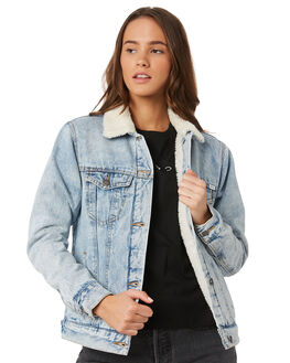 INDIGO ACID WOMENS CLOTHING RVCA JACKETS - R293437IACD