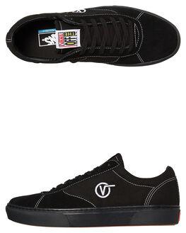BLACK BLACK MENS FOOTWEAR VANS SNEAKERS - VNA3TKKBKABKBK