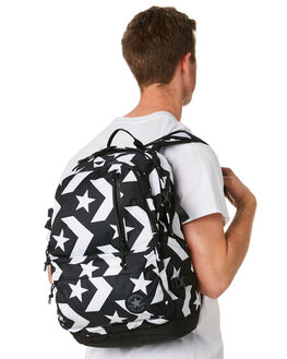 BLACK WHITE MENS ACCESSORIES CONVERSE BAGS + BACKPACKS - 10007783-001