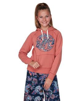 DUSTY ROSE KIDS GIRLS BILLABONG JUMPERS + JACKETS - BB-5507731-DU4