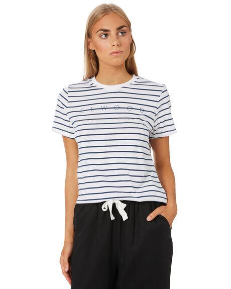 STRIPE WOMENS CLOTHING ELWOOD TEES - W01109STP