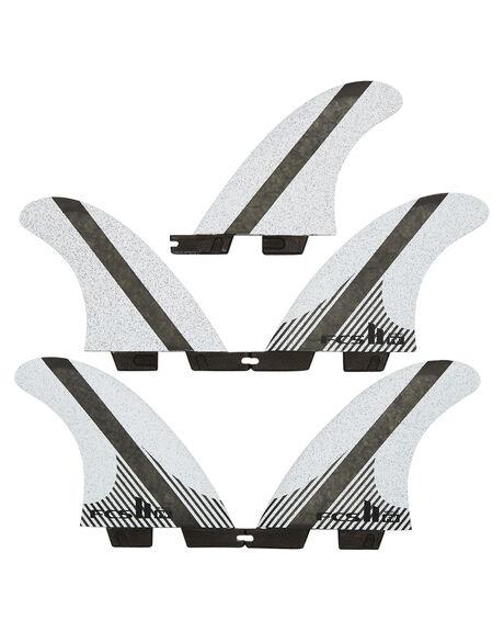 GREY BLACK BOARDSPORTS SURF FCS FINS - FFWM-CC02-MD-FS-RGRB