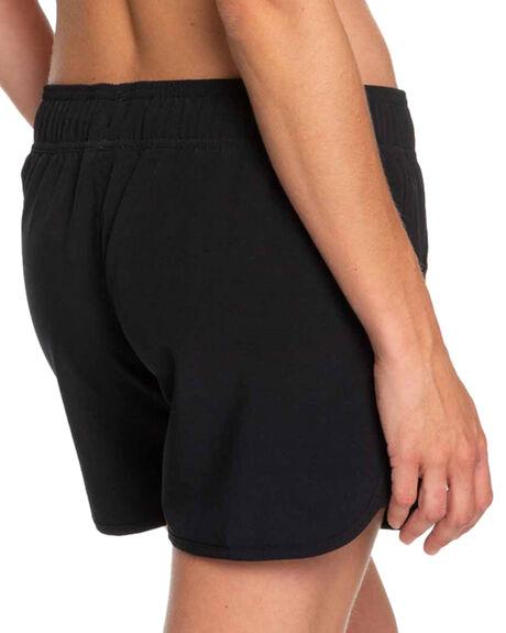 ANTHRACITE WOMENS CLOTHING ROXY SHORTS - ERJBS03139-KVJ0