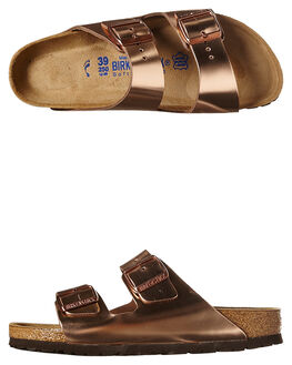 COPPER WOMENS FOOTWEAR BIRKENSTOCK FASHION SANDALS - 752723COP