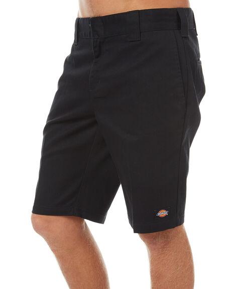 BLACK MENS CLOTHING DICKIES SHORTS - WR872BLK