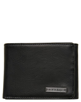 BLACK MENS ACCESSORIES RUSTY WALLETS - WAM0535BLK
