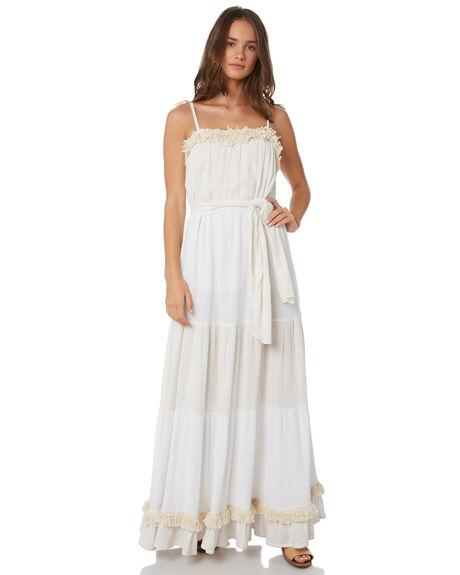 WHITE WOMENS CLOTHING TIGERLILY DRESSES - T391435WHT
