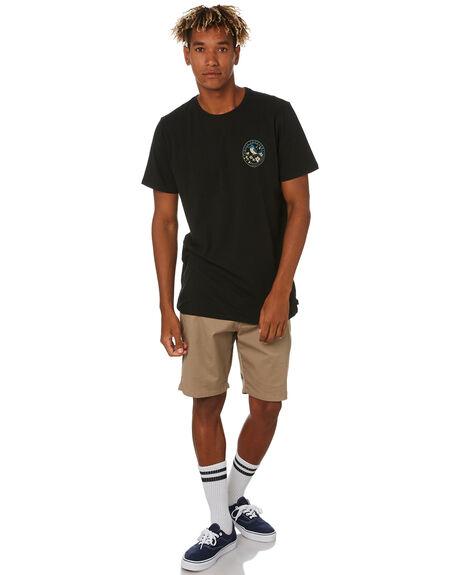 BLACK MENS CLOTHING SWELL TEES - S5203010BLACK