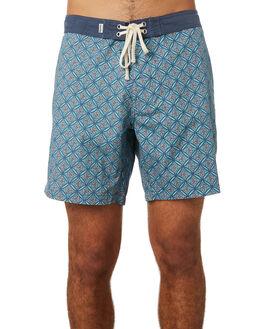 NAVY MENS CLOTHING RHYTHM BOARDSHORTS - JUL19M-TR04-NAV