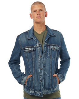 DANICA MENS CLOTHING LEVI'S JACKETS - 72334-0140DNCA