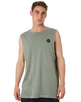 SAGE MENS CLOTHING RVCA SINGLETS - R182013SAGE