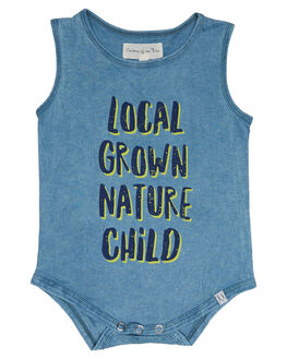 BLUE KIDS BABY CHILDREN OF THE TRIBE CLOTHING - BBON0317BLU