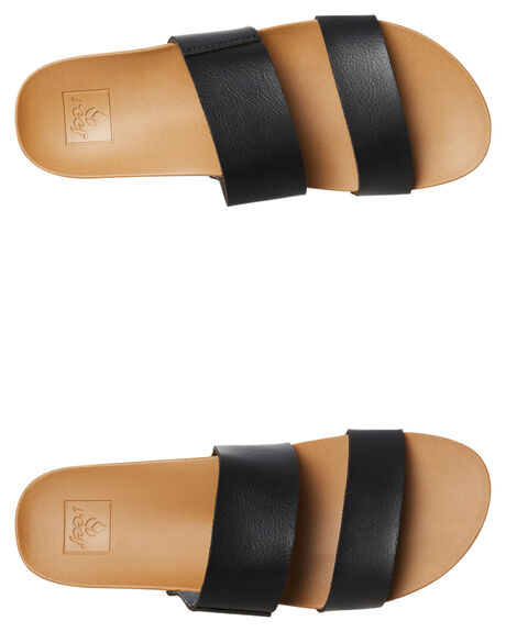 BLACK WOMENS FOOTWEAR REEF FASHION SANDALS - A30KSBLN