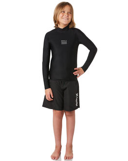 BLACK OUTLET BOARDSPORTS SWELL RASHVESTS - S3164051BLACK
