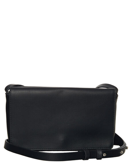 BLACK WOMENS ACCESSORIES THERAPY HANDBAGS - 10985BLK