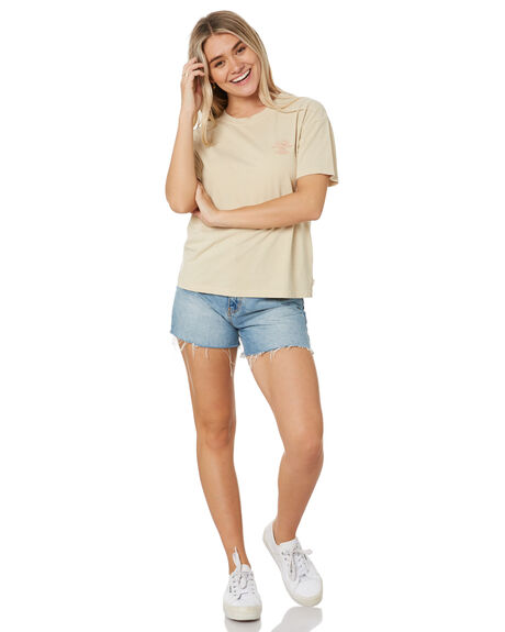 STONE WOMENS CLOTHING RIP CURL TEES - GTEIW92019