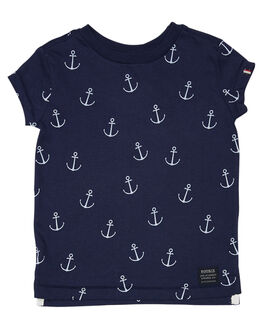 NAVY WHITE KIDS TODDLER BOYS ROOKIE BY THE ACADEMY BRAND TOPS - R19S471NVYWH