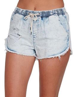 ACID RINSE WOMENS CLOTHING BILLABONG SHORTS - BB-6561285X-ARI