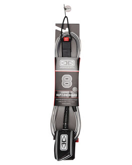 BLACK BOARDSPORTS SURF OCEAN AND EARTH LEASHES - LSR8BLK