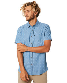 BLUE MENS CLOTHING RIP CURL SHIRTS - CSHMK10070