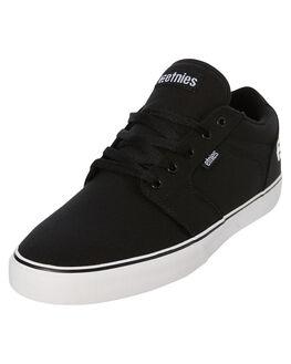 BLACK BLACK MENS FOOTWEAR ETNIES SKATE SHOES - 4101000509003