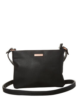 BLACK WOMENS ACCESSORIES RUSTY HANDBAGS - BFL0921BLK