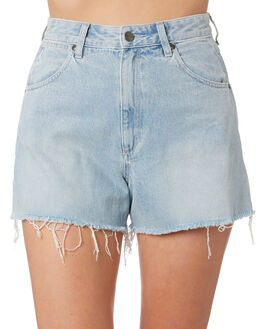 WHISPER BLUE WOMENS CLOTHING WRANGLER SHORTS - W-951478-D30
