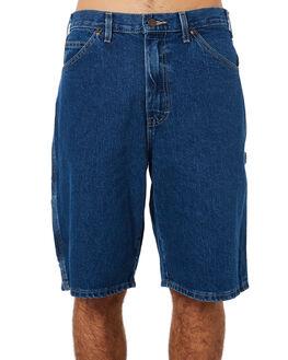 STONE INDIGO BLUE MENS CLOTHING DICKIES SHORTS - DC200SNB