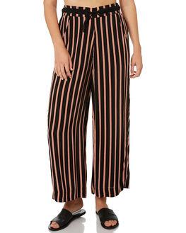 BLACK OUTLET WOMENS BILLABONG PANTS - 6595406BLK
