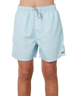 LIGHT BLUE KIDS BOYS RIP CURL SHORTS - KBORA11080