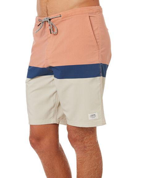 SALMON MENS CLOTHING KATIN BOARDSHORTS - TRSTA01SAL