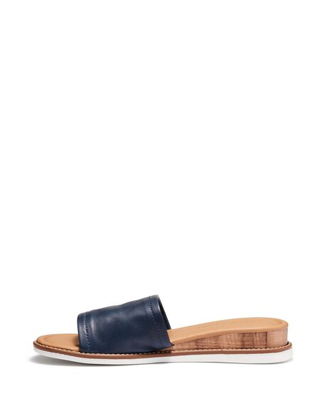 NAVY WOMENS FOOTWEAR JUST BECAUSE SLIDES - SOLE-JB0530NVY