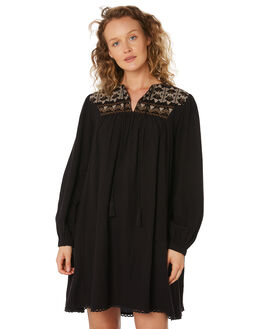 BLACK TAN WOMENS CLOTHING SAINT HELENA DRESSES - SHS192132CBLKTN