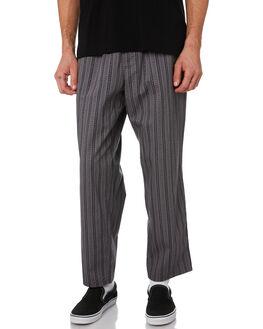 GREY MENS CLOTHING POLAR SKATE CO. PANTS - PSC-WAVSURF-GRY