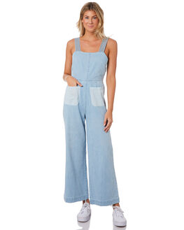 BLEACH BLUE WOMENS CLOTHING ROLLAS PLAYSUITS + OVERALLS - 13136BLBLU