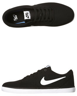 BLACK WHITE WOMENS FOOTWEAR NIKE SNEAKERS - SS843896-001W