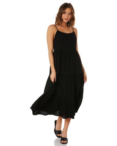BLACK WOMENS CLOTHING SWELL DRESSES - S8222249BLACK