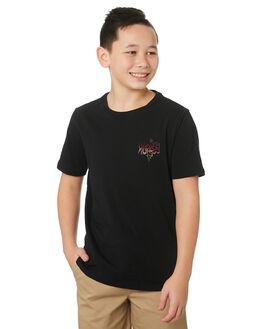 BLACK KIDS BOYS HURLEY TOPS - CI7519010