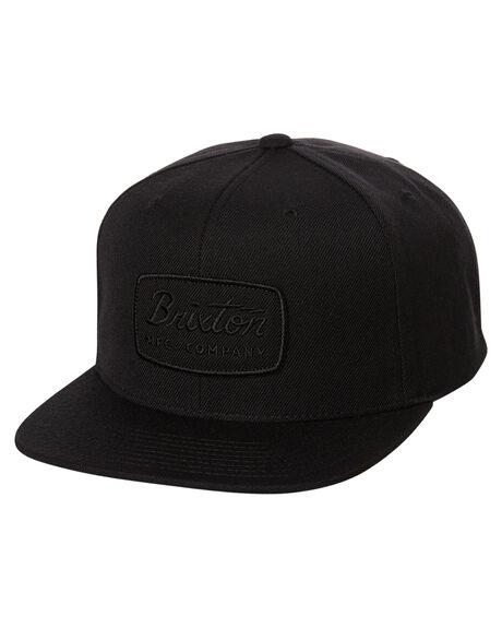 BLACK BLACK MENS ACCESSORIES BRIXTON HEADWEAR - 00491BKBK