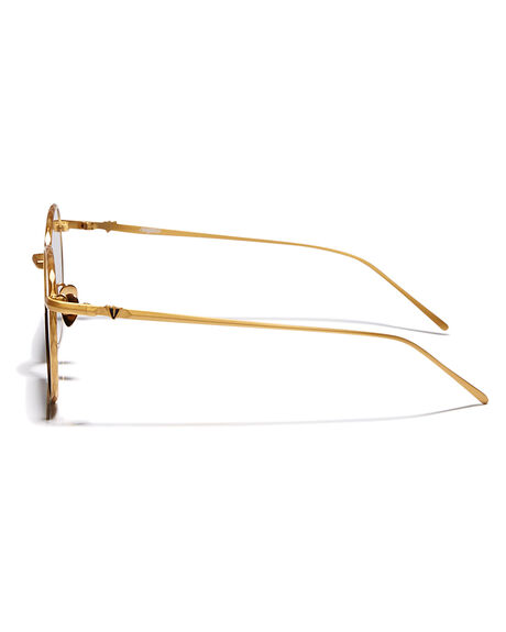 BRUSHED GOLD MENS ACCESSORIES VALLEY SUNGLASSES - S0299BRGLD