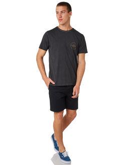 BLACK MENS CLOTHING BILLABONG TEES - 9585008BLK