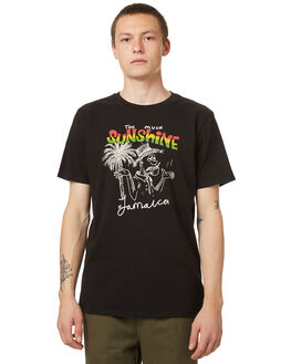 VINTAGE BLACK MENS CLOTHING NO NEWS TEES - N5174003VBLK