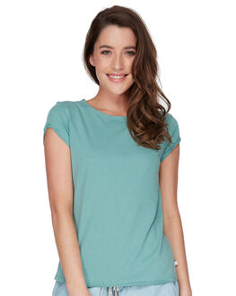 TRELLIS WOMENS CLOTHING ROXY TEES - ERJZT04367BKW0